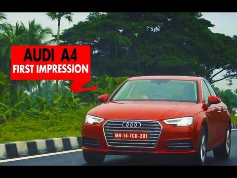 Audi A4 : First Impression : PowerDrift
