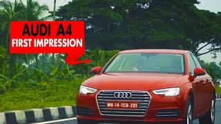 Audi A4 : First Impression : PowerDrift