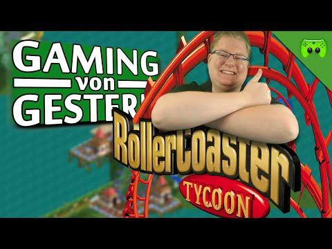 ROLLERCOASTER TYCOON 🎮 Gaming von Gestern #2