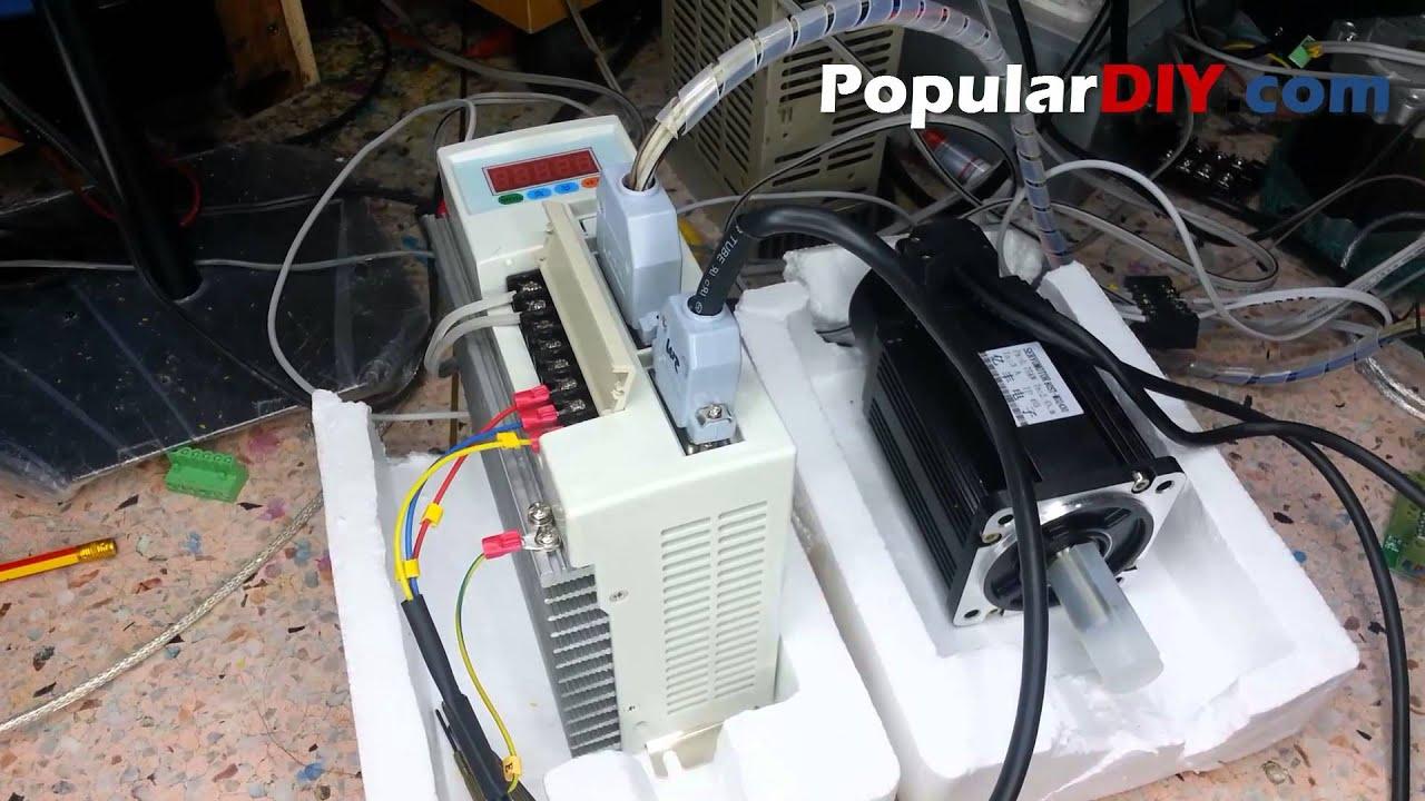 populardiy com ac servo motor cnc  positon control mode on