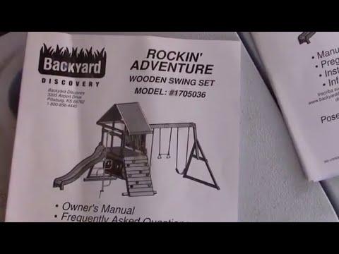 DIY Rocken Adventure Wooden Swing Set (V1 of 14)