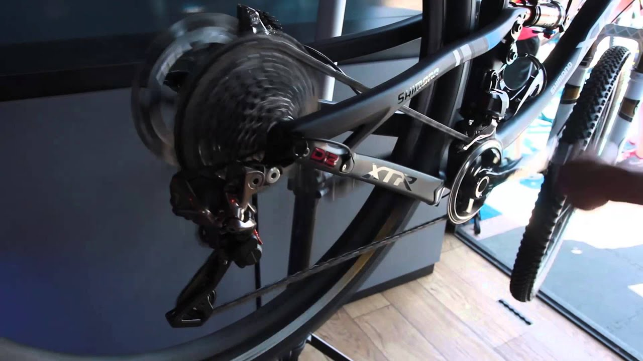 Hands on with Shimano XTR Di2 at Interbike Outdoor Demo 2014 with Jenson USA 7f14af86c