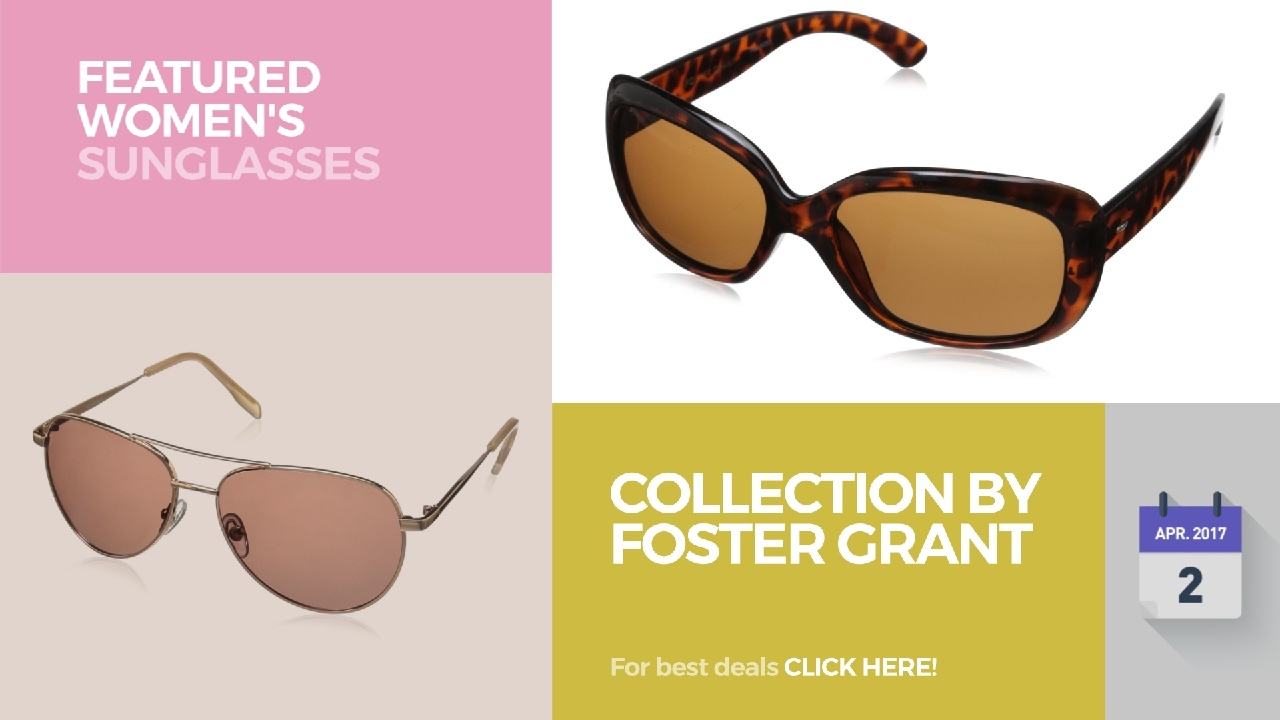 8f2dbfb4cbb5e Collection By Foster Grant Featured Women s Sunglasses - YouTube