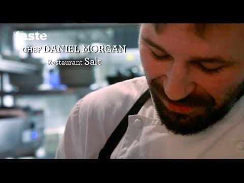 Le chef Daniel Morgan était au Salon Taste of Paris 2016