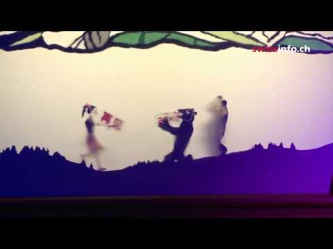 Shadow puppets tell Appenzell's history