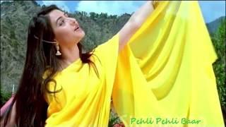 Pehli Pehli Baar Song / Sirf Tum / Sanjay Kapoor / Priya Gill / Alka Yagnik / Kumar Sanu / Love Song