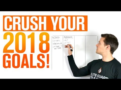 4 Simple Steps To CRUSH Your 2018 Goals