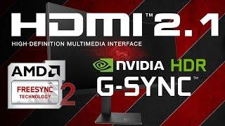 CES2017: Технологии HDMI 2.1, G-Sync HDR, FreeSync 2