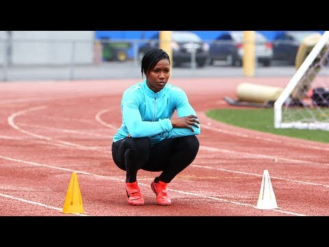 US Sprinter Carmelita Jeter on How She Spends Her Day Off An