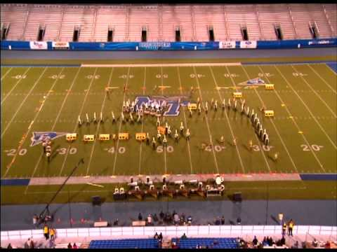 Mt. Juliet High School Band of Gold - Contest of Champions Finals 2012