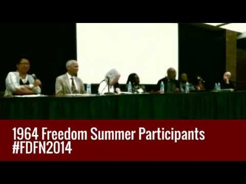 #FDFN2014: Reflections on Freedom Summer  w/ 1964 Civil Rights Activists