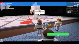 jogando roblox:artes marciais com o dragom
