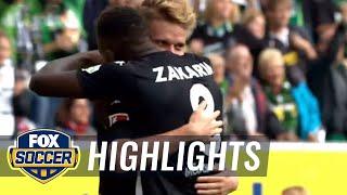 Nico Elvedi gives Monchengladbach the lead vs. Koln | 2017-18 Bundesliga Highlights