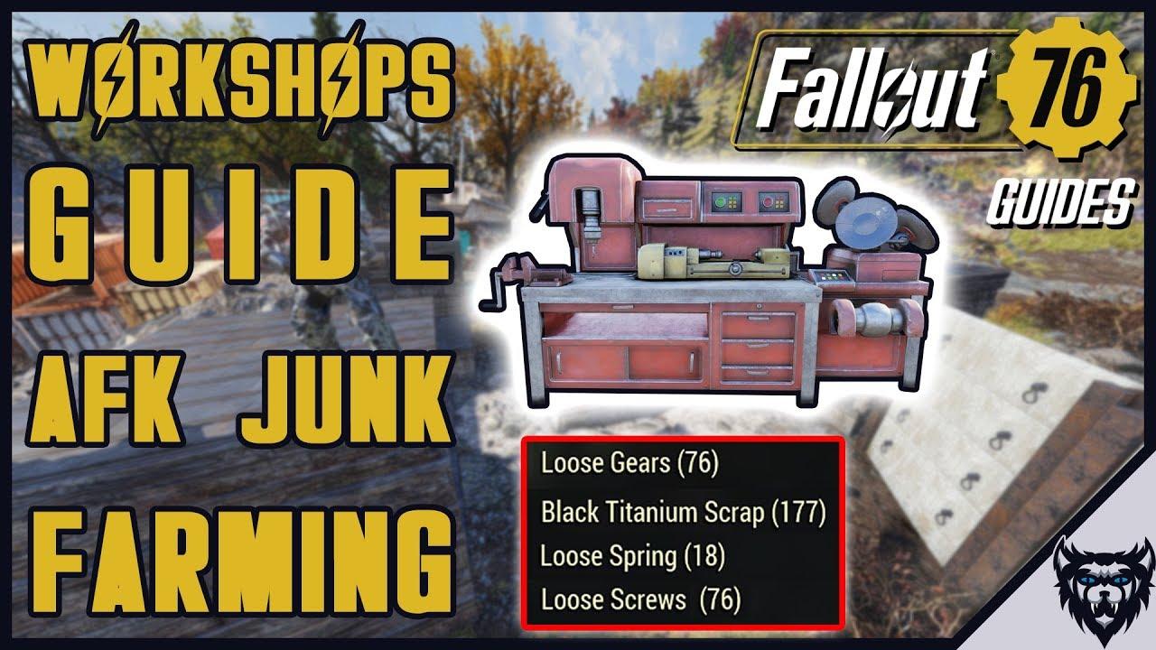 gear farming fallout 76