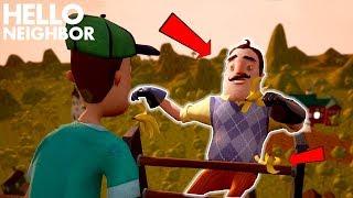 Pushing The Neighbor OVER THE EDGE!!! (He Goes Crazy) | Hello Neighbor Gameplay (Mods)