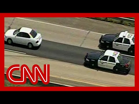 Is this the slowest car chase ever?