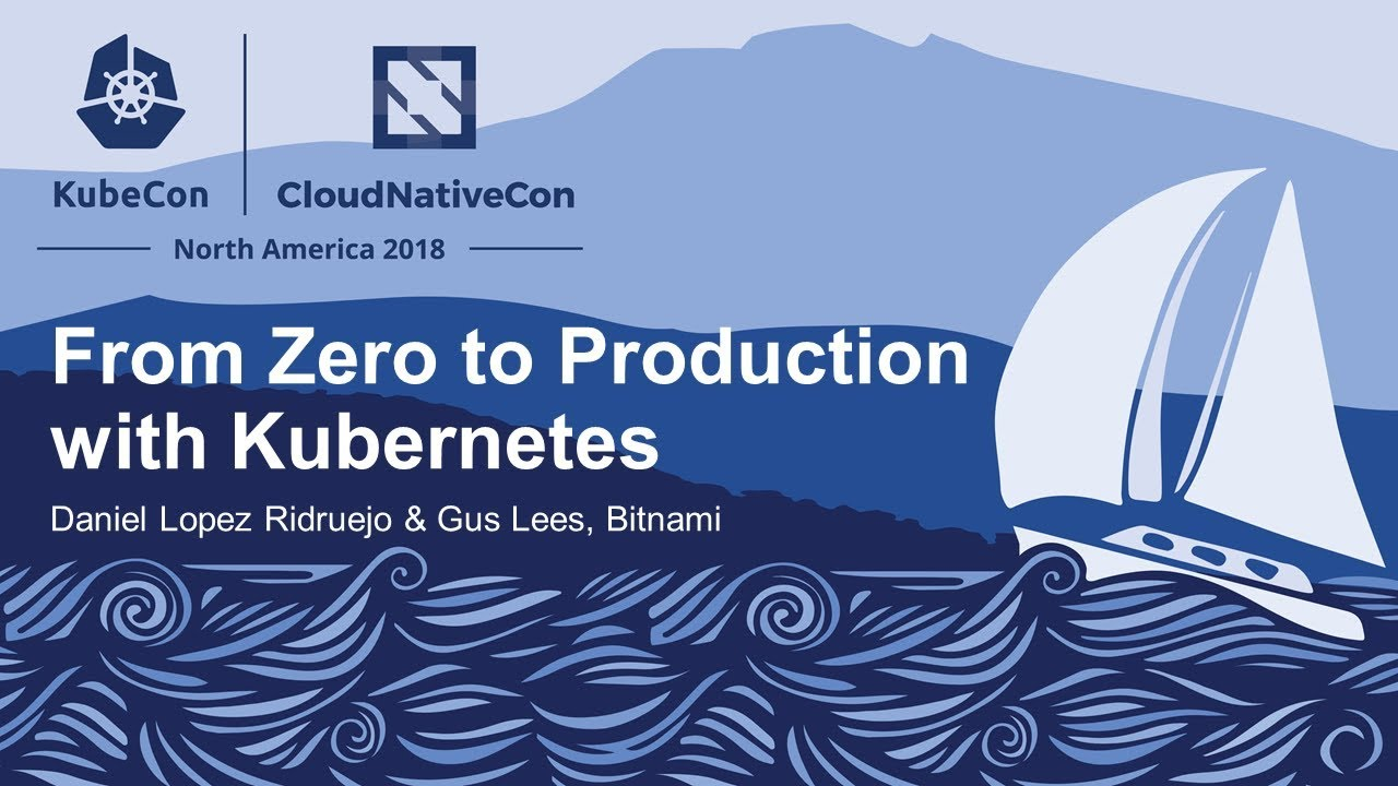From Zero to Production with Kubernetes - Daniel Lopez Ridruejo & Gus Lees,  Bitnami