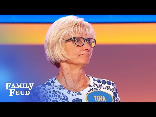 Santa better pray Mrs. Claus doesn't look in his sleigh! | Family Feud