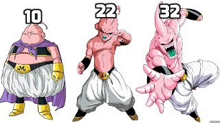 Majin Buu All Forms POWER LEVELS Over The Years