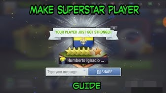 HOW TO MAKE SUPERSTAR PLAYER FOR FREE | 2018 TOPELEVEN