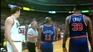 Scottie Pippen Monster Dunk On Patrick Ewing.Tv