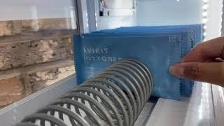세탁용품판매기 용수철, 여분 테스트 영상 (워시마켓 단…