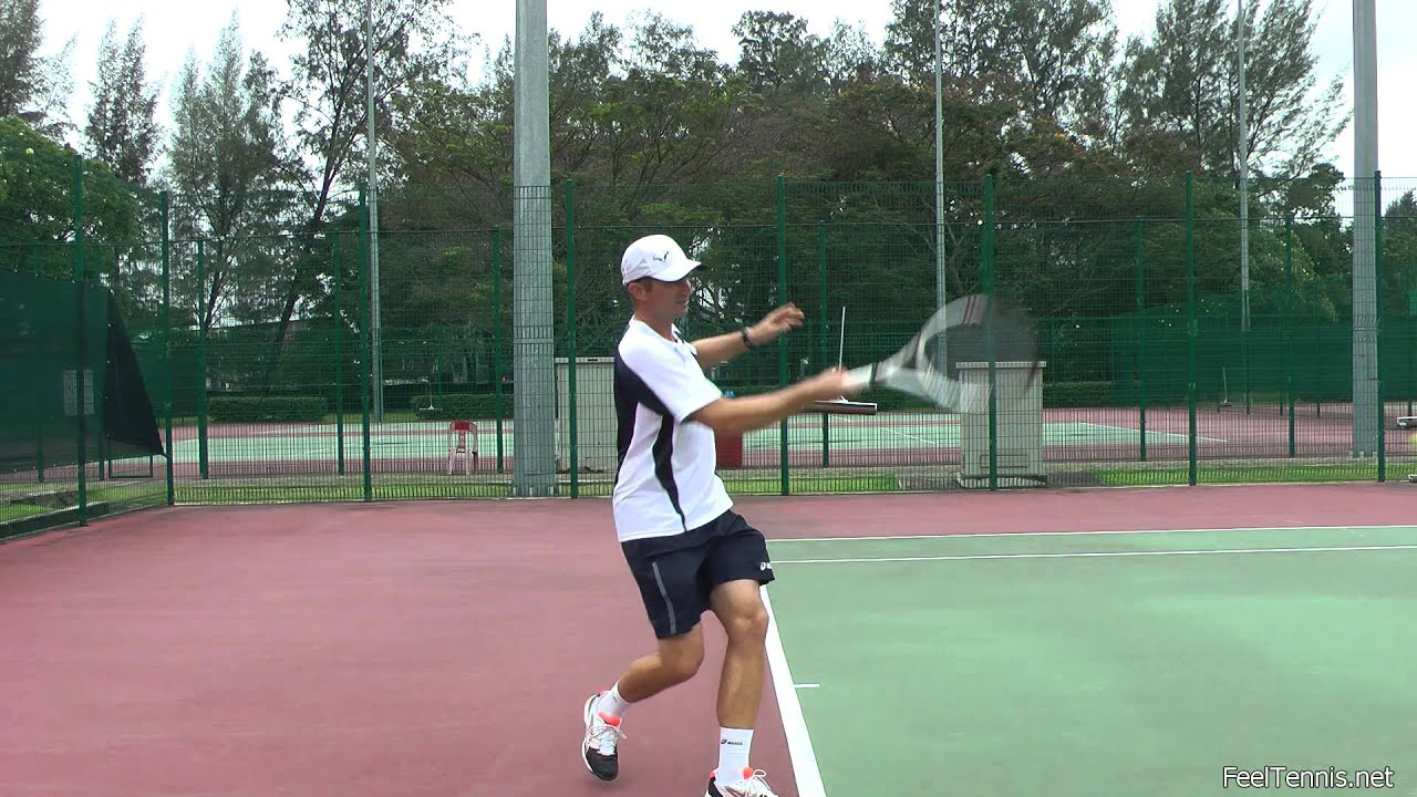 How to play tennis 10