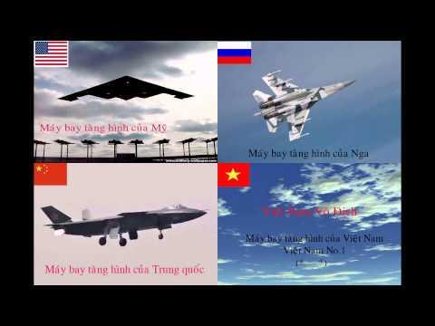 Máy Bay Tàng Hình Của Việt Nam