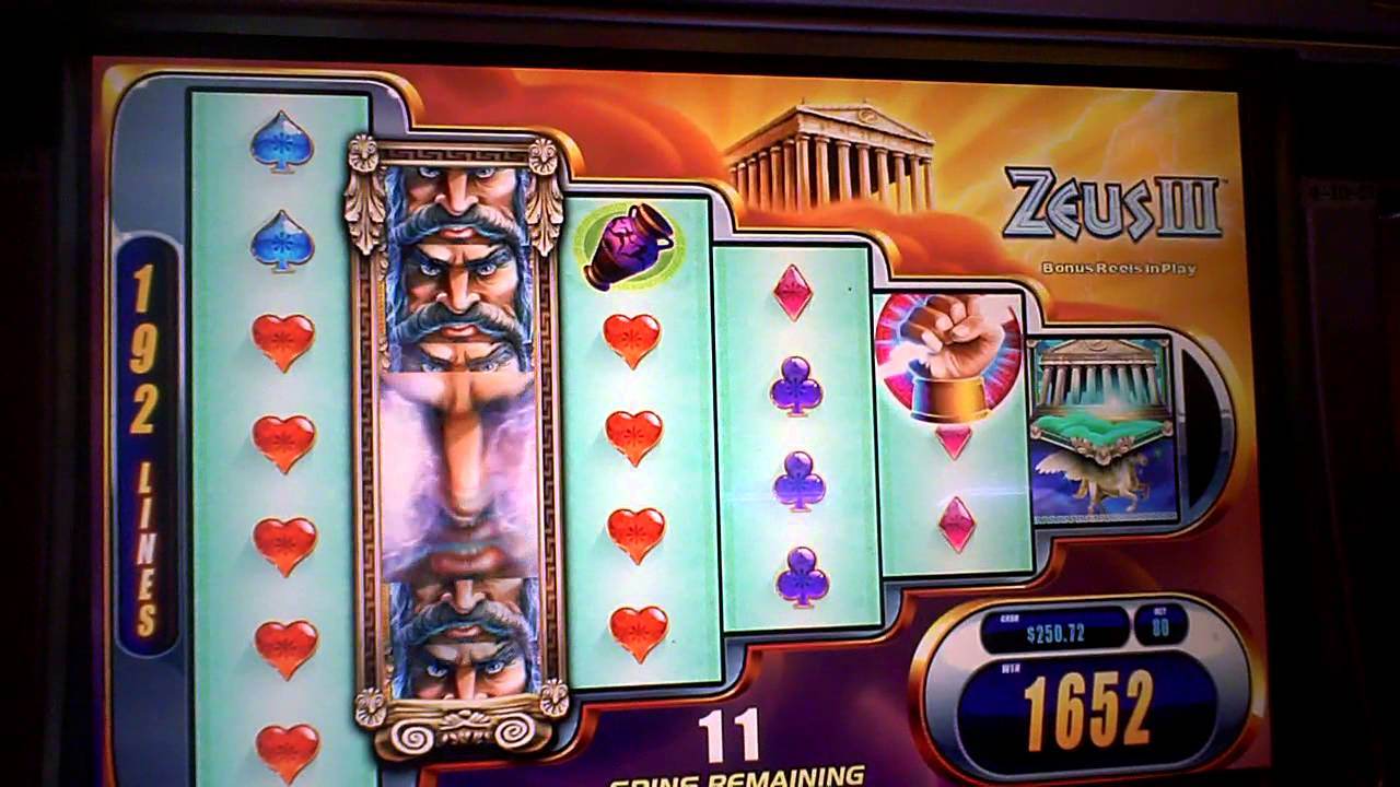 Zeus Iii Slot Machine