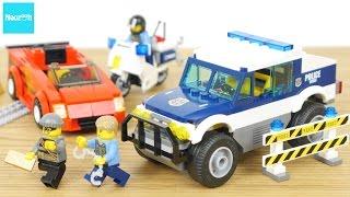 レゴ シティ スポーツカーとポリスパトロールカー 60007 / LEGO CITY,  LEGO City Police High Speed Chase 60007