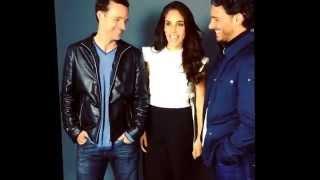 Sandra Echeverria, Erick Elias y Juan Pablo Medina en sesion para Five Secrets (Amor de Mis Amores)
