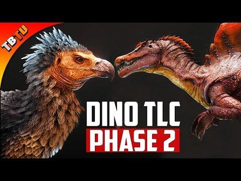 DINO TLC Phase 2! TLC Phase 1 RELEASE Date! EPIC AGRENTAVIS BUFFS! Ark Survival Evolved Update
