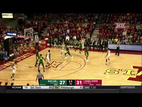 Baylor vs Iowa State Men's Basketball Highlights
