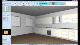 Como criar instantaneamente o projecto de uma cozinha no KDMAX, Software de desenho de cozinhas