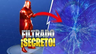 CHARACTER SECRET FILTERING ROAD TRAVEL FORTNITE: Battle Royale