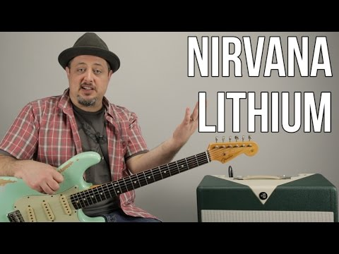 Nirvana | Lithium | Guitar Lesson | How to Play Lithium by N