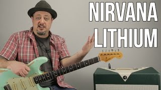 Nirvana | Lithium | Guitar Lesson | How to Play Lithium by Nirvana on Guitar