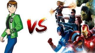 Ben10 Vs Avengers | Who Will Win? In Hindi | By LightVidZ