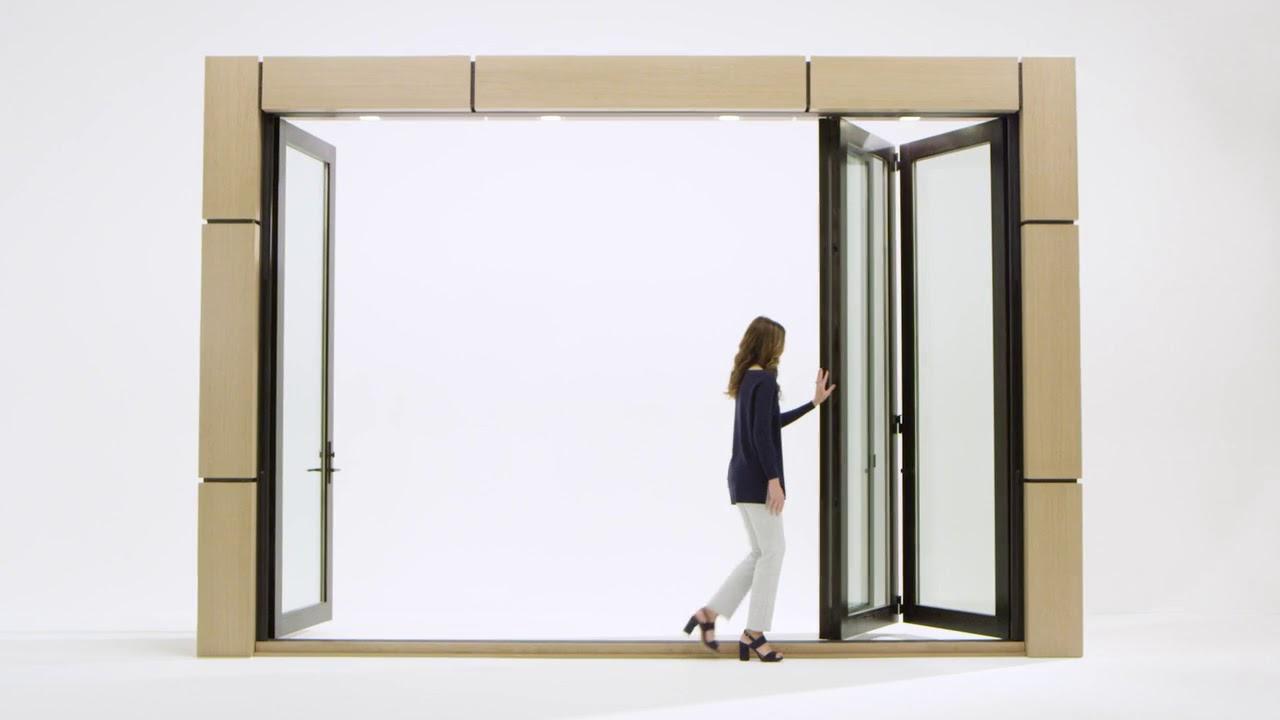 reinvented the marvin ultimate bi fold door