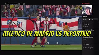 Video Gol Pertandingan Atletico Madrid vs Deportivo La Coruna
