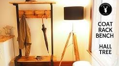 Coat Rack Bench | Hall Tree