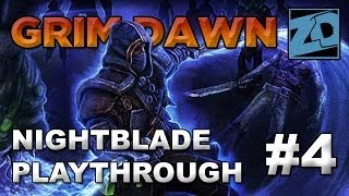 Grim Dawn [Alpha]: Nightblade Playthrough #4 (Livestream VOD)