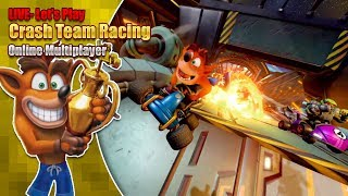 Crash Team Racing Online featuring Garrulous64, DaveAce, and Sponsors