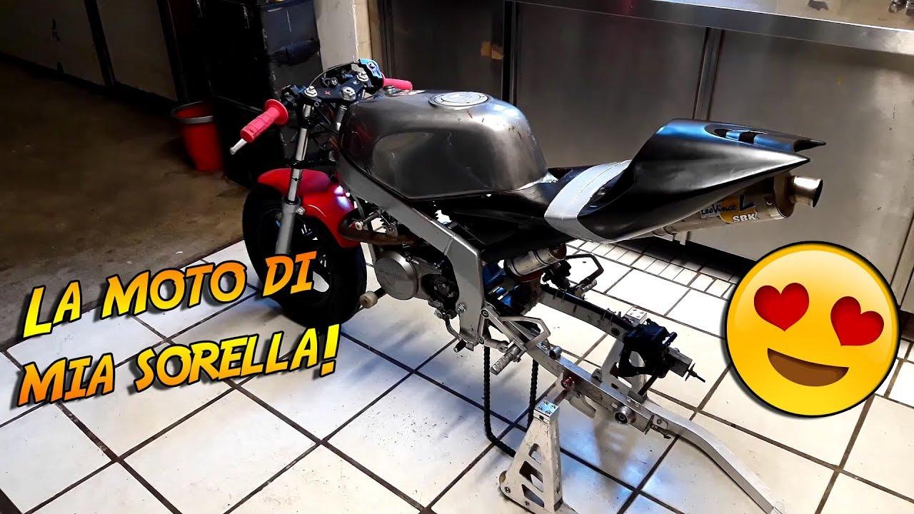 Honda Garage Utrecht : Moto da pista di mia sorella minigp honda cc youtube
