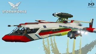 Stormworks #4 - Thử các loại máy bay và trực thăng | ND Gaming