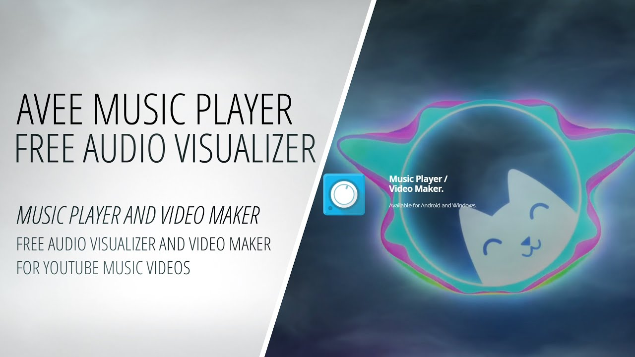 Avee Music Player Free Audio Visualizer And Video Maker For Youtube Music Videos Making Video Youtube