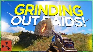 Getting a TIER 3, and GRINDING RAIDS! (SOLO VANILLA RUST #11 S40)