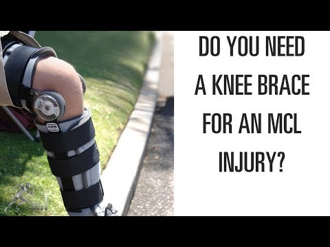 416921fe5a Do you need a knee brace for a torn MCL? - YouTube