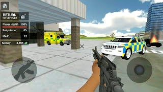 Police Car Driving: Motorbike Riding #2 - Police Officer Simulator - Android Gameplay FHD