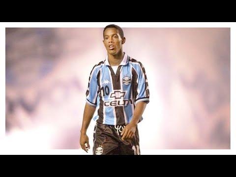 RONALDINHO • Grêmio • Gols, Dribles e Assistências • 1998 / 01 • HD